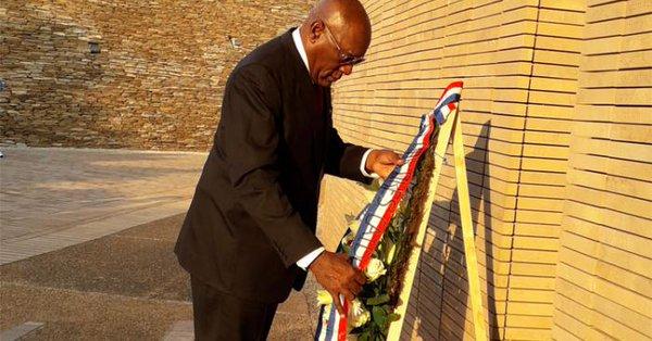 Primer Vicepresidente cubano rindió homenaje en Sudáfrica a los combatientes caídos (+fotos)