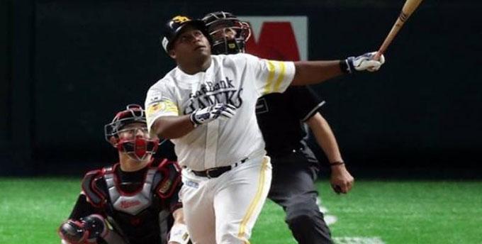 Llegó Despaigne a 10 jonrones en liga japonesa de béisbol