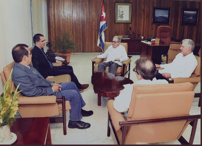 Venezuela y Cuba fortalecen relaciones pese a injerencia de EE.UU.