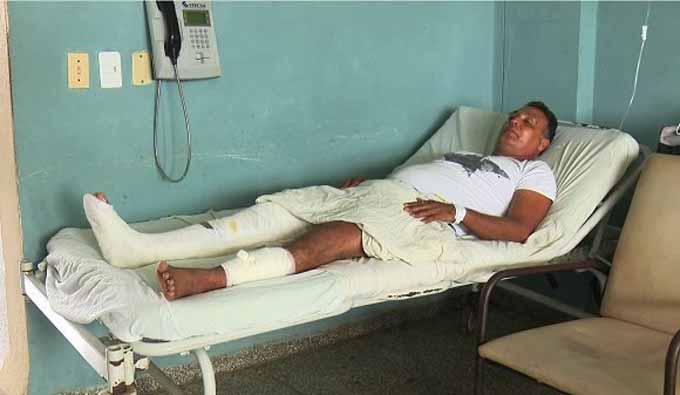 Evolucionan favorablemente los lesionados en el accidente automovilístico en Villa Clara