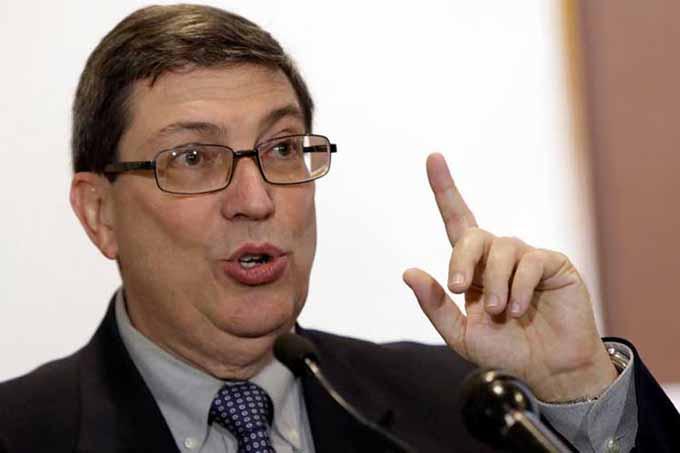 Canciller cubano llama a defender soberanía de pueblos latinoamericos