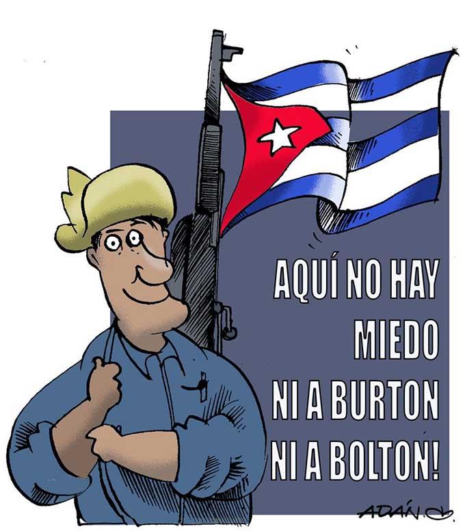 Díaz-Canel: la Helms-Burton no detendrá la marcha de los cubanos