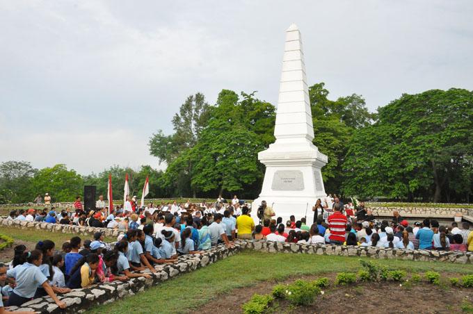 Convocan a conmemorar el aniversario 125 de la caída en combate de Martí