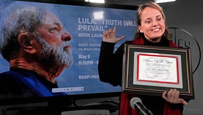 Otorgan a Lula en Nueva York título de Personalidad del Año