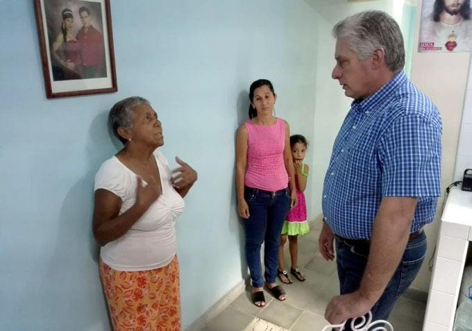 Continúa Díaz-Canel recorrido por Granma (Minuto a Minuto)