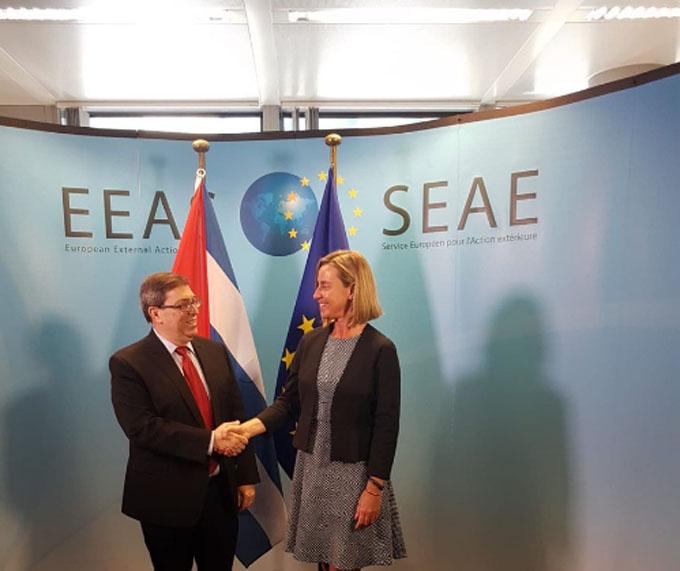 Cuba y la Unión Europea evalúan respuestas frente a la activación de la Helms-Burton