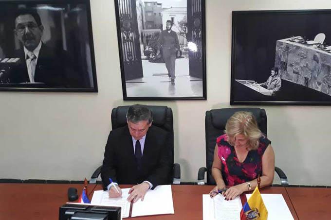 Cuba y Ecuador ratifican compromiso con migración segura y ordenada