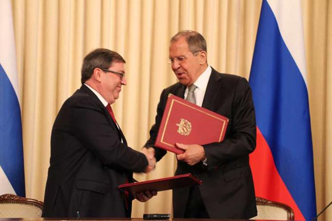 Canciller cubano concluye visita oficial a Rusia (+fotos)