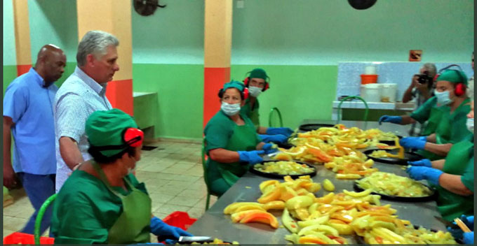 Presidente cubano encabeza visita gubernamental a Holguín (+ fotos y video)