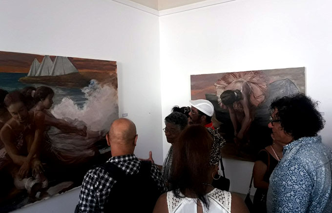 Artes plásticas granmenses también en IX Congreso (+ fotos)
