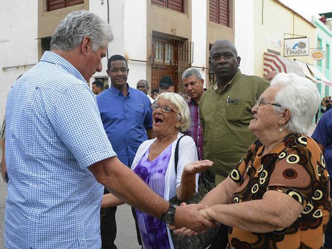 Apreció Díaz-Canel amplios proyectos de desarrollo en sectores prioritarios de la provincia de Holguín