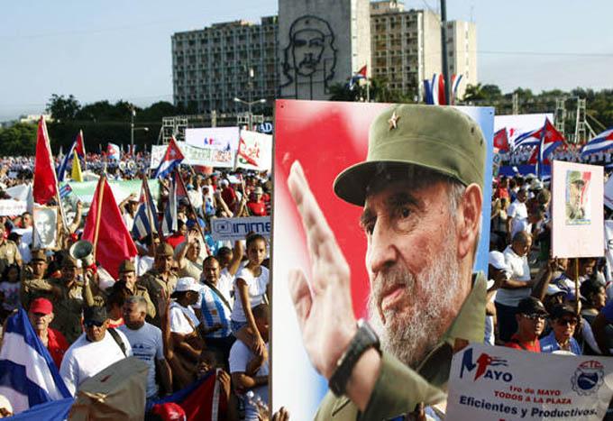 Amplia participación extranjera en festejos por el 1 de mayo en Cuba