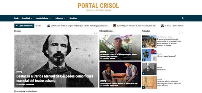 Reabre portal digital de la cultura en Granma