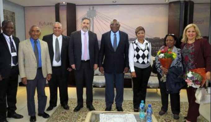 Primer Vicepresidente de los Consejos de Estado y de Ministros de Cuba inicia visita a Sudáfrica