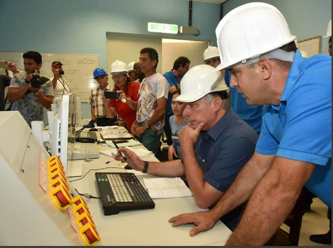 Díaz-Canel continúa visita gubernamental a Villa Clara (+fotos y video)