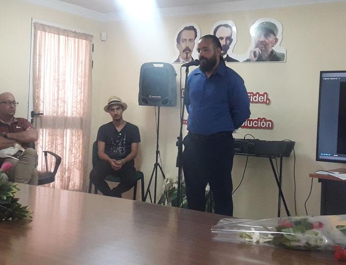 Nuevo director de cine para la ciudad de Bayamo