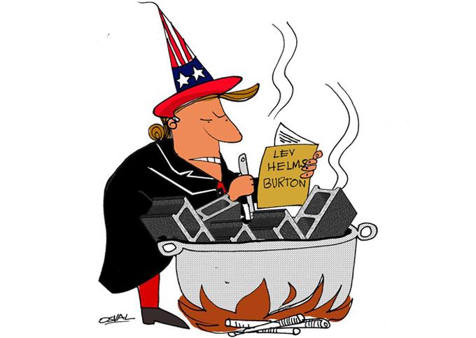 Presidente de Cuba reitera su condena a injerencia de EE.UU.