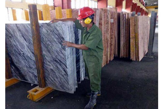 Mayor industria cubana de mármol podría volver a exportar el material