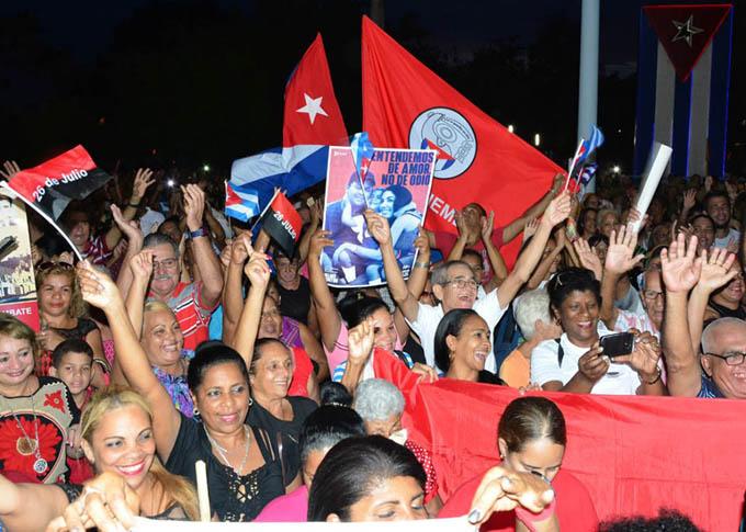Granma, sede del acto central por el Día de la Rebeldía nacional (+ fotos y videos)