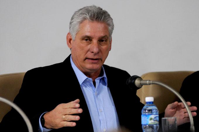 Presidente de Cuba: ante las presiones imperiales no se negocia