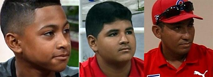 Integran tres bayameses equipo Cuba de béisbol en la categoría sub 12 (+ video)