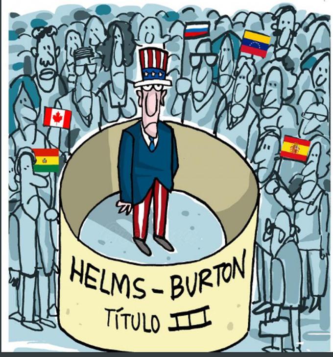 Helms Burton es ilícita e inaplicable, reafirma presidente de Cuba