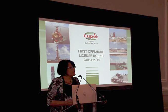 Cuba licita en Londres 24 bloques petroleros del Golfo de México (+Fotos)