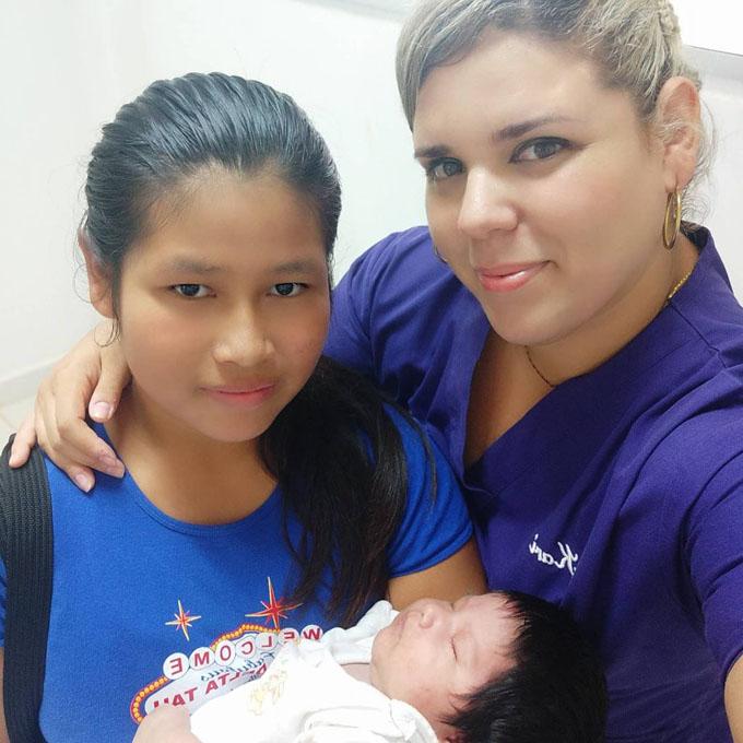 Nirza, una doctora cubana, se quedará para siempre en Bolivia (+ fotos y video)