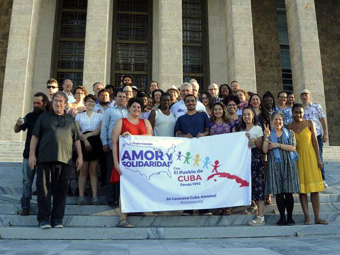 Presidente de Cuba pondera visita de Pastores por la Paz