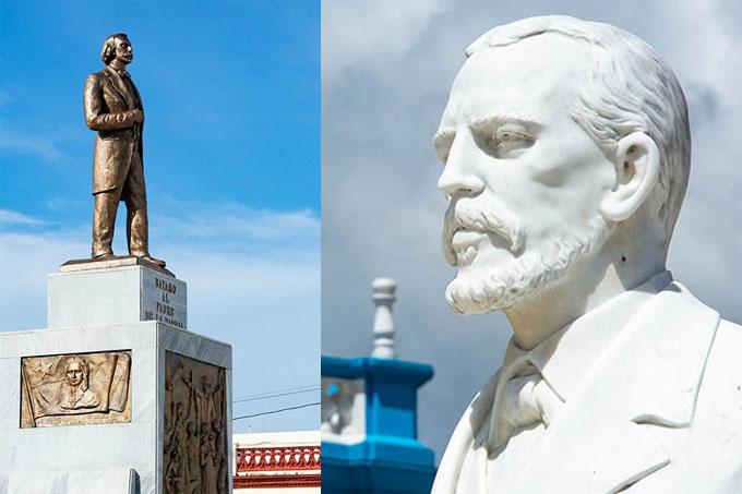 Concluye restauración de monumentos en Plaza de la Revolución de Bayamo