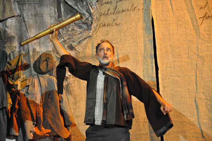 Presentó Teatro del Caballero espectáculo El Acto