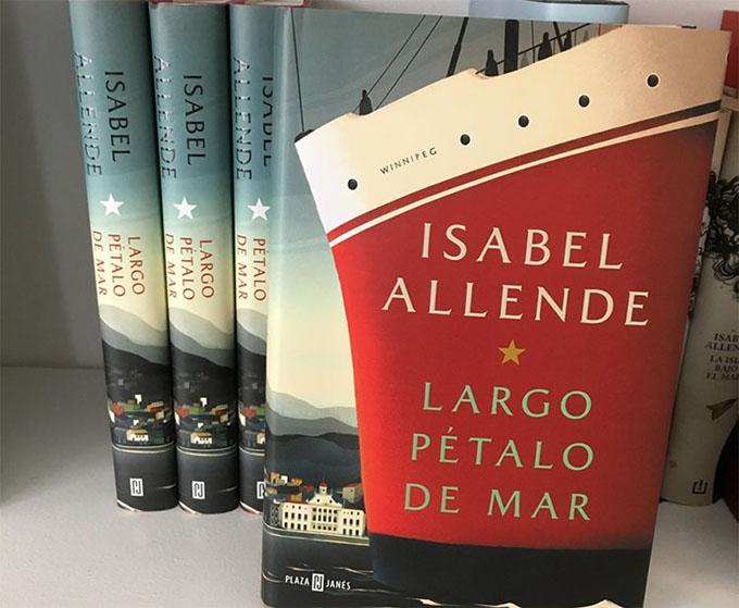 Isabel Allende presenta en Chile su más reciente novela