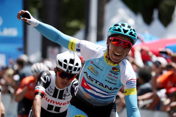 Arlenis marcha sexta en Vuelta femenina a Guatemala