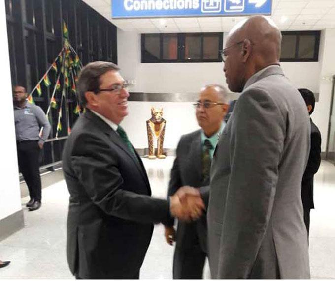 Canciller cubano en Guyana para VI Reunión Ministerial Caricom-Cuba