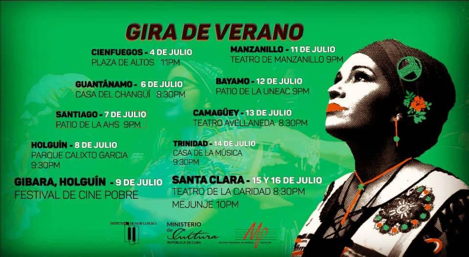 Actuarán Telmary y Habana Sana en Granma