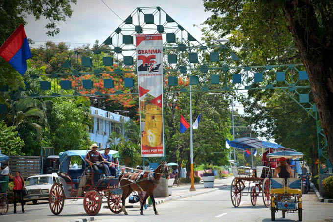 Aires de patria en Bayamo por celebración cubana (+ fotos)