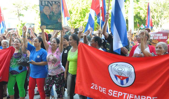 Cederistas granmenses apuestan por la sede del 28 de septiembre (+ video)