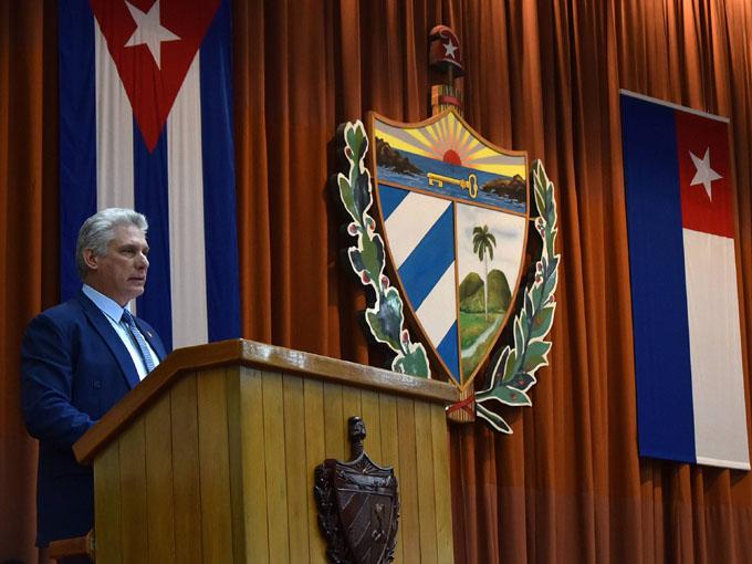 Participa Díaz- Canel en Asamblea de Entidades Fiscalizadoras