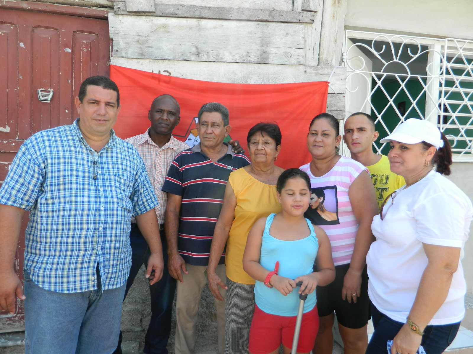 Abrazos a familias panamericanas