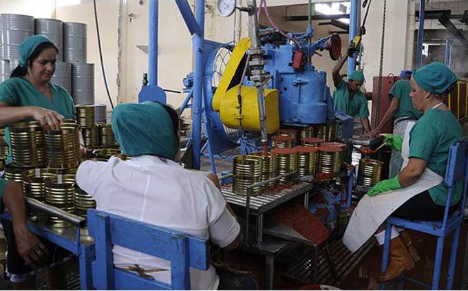 Producción de conservas sustituirá importaciones en Cuba