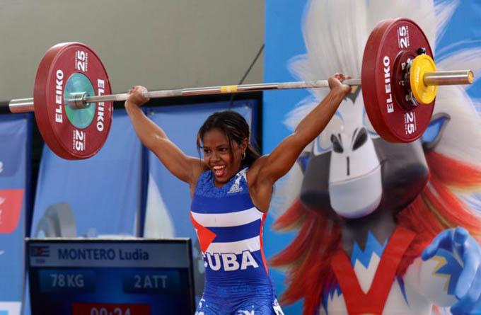 Pesista Ludia Montero quedó cerca de las medallas en Lima 2019