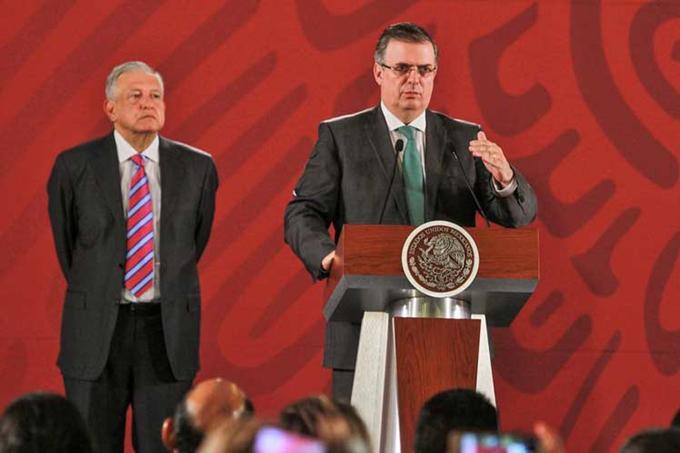 Flujo migratorio México-EE.UU. disminuyó 36,2 por ciento dice Ebrard