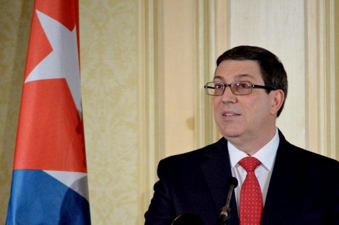 Canciller cubano rechaza gestión de John Bolton