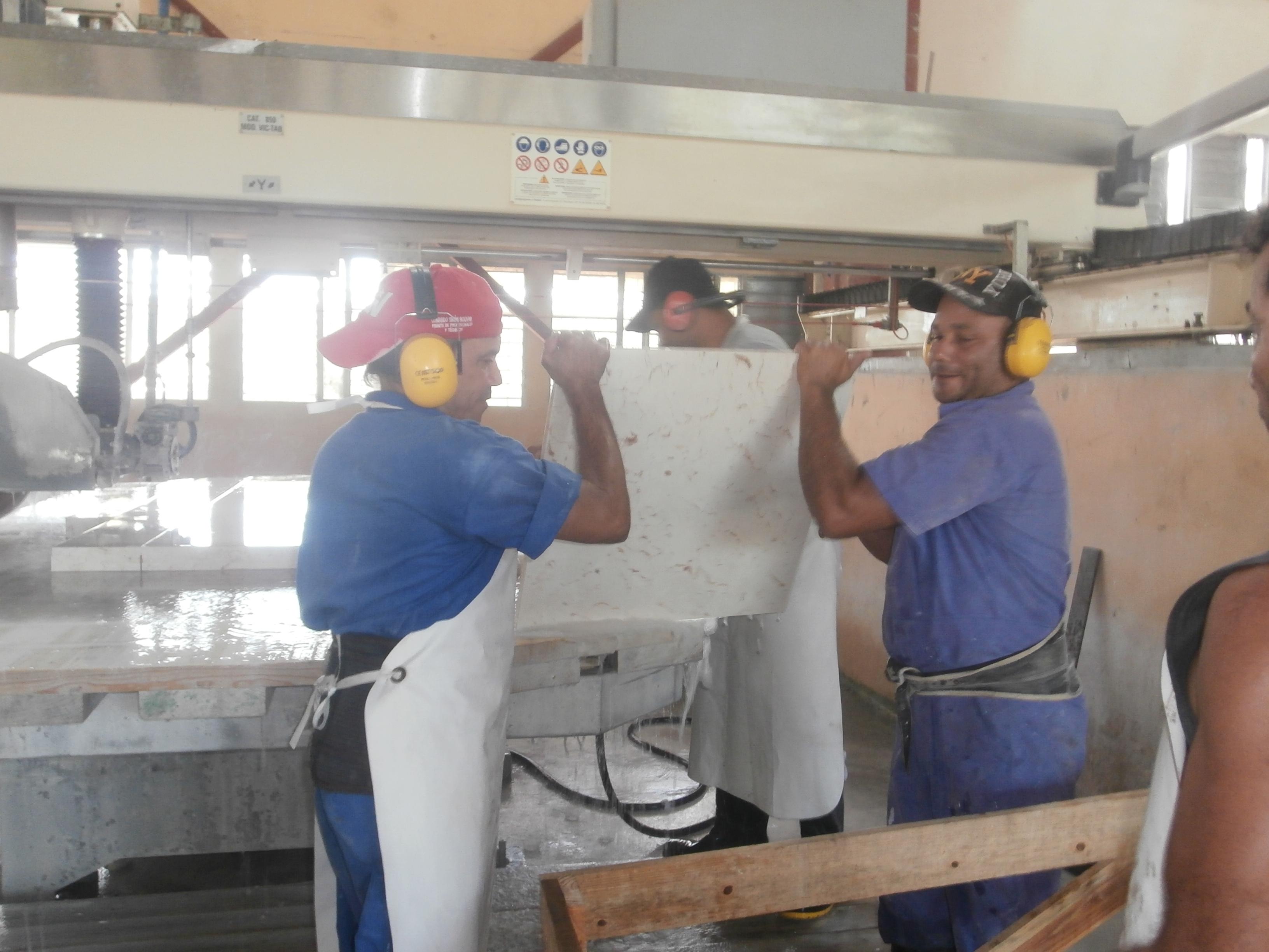Principal industria del mármol en Cuba apuesta a la excelencia