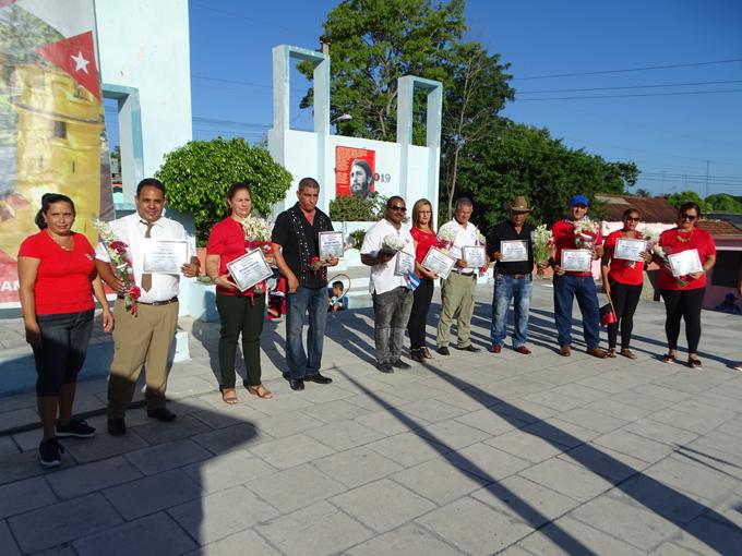 Festejan en Jiguaní Día de la Rebeldía Nacional (+ fotos)