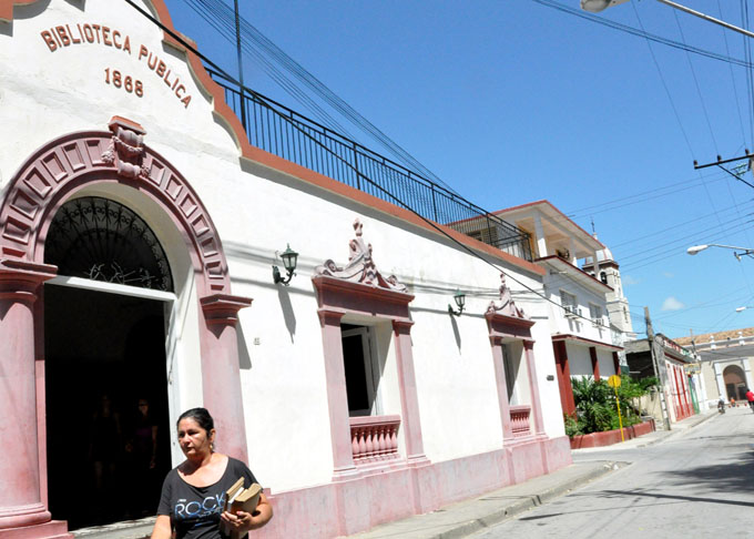 Arriba a 55 años de fundada Biblioteca Provincial 1868