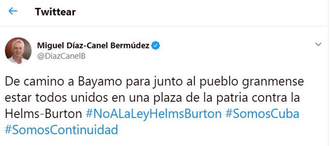Díaz-Canel presidirá acto nacional por el 26 en Bayamo (+ fotos y videos)
