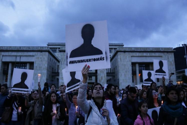 Movilización en Colombia por la vida y contra asesinatos de líderes