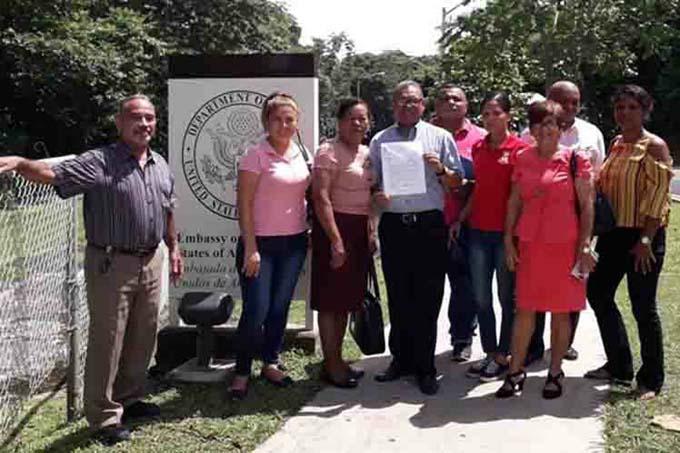 Fuerza sindical panameña exigió cese del bloqueo a Cuba