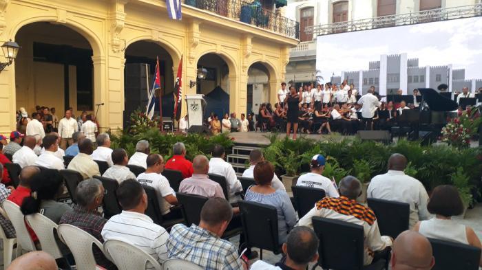 Participa Díaz-Canel en acto provincial de La Habana en saludo al Día de la Rebeldía Nacional (+fotos)